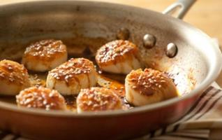 Seafood Lunch & Learn: Scallops in a Flash!