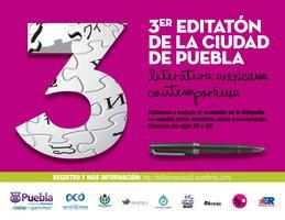 Tercer Editatón de la Ciudad de Puebla