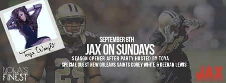 SAINTS VS FALCONS GAME AFTER PARTY W/ TOYA WRIGHT &...