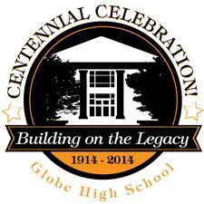 Globe High School Centennial Committee logo