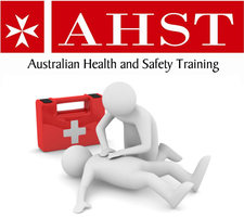 First Aid & CPR Training -                                          Australian Health and Safety Training logo