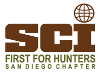 Safari Club International, San Diego Chapter logo