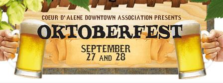 Coeur d'Alene Oktoberfest 2013 - Friday 9/27 4pm - 9pm...