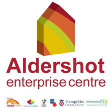 Aldershot Enterprise Centre logo