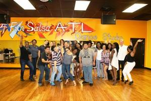 3hr Salsa Dance Class Atlanta Beginner every Saturday