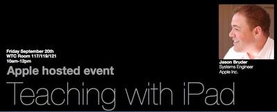 Apple Hosted Event: Teaching with iPad