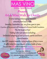 Mas Vino Wine & Art Walk for Charity