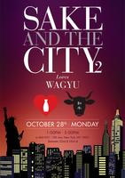Sake and the City II: Discover Japanese Wagyu