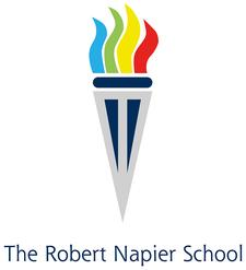 The Robert Napier School logo