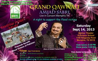 FUND RAISING FOR PAKISTAN FLOOD VICTIMS WITH AMJAD SABR...