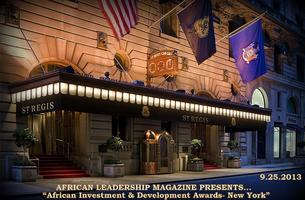 African Investment & Development Awards- New York