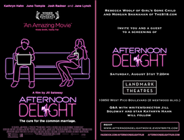 Afternoon Delight Screening + Q&A w/ Kathryn Hahn and...