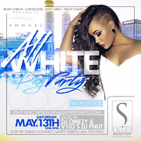 3rd Annual Atlanta #CodeWhite Rooftop All White Day...