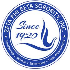 Zeta Phi Beta Sorority, Inc., Upsilon Theta Zeta Chapter of Redford, MI logo