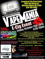 Vapemania NC Triads First E-Cig Event