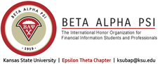 Beta Alpha Psi Epsilon Theta Chapter logo