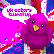 UK Actors Tweetup logo