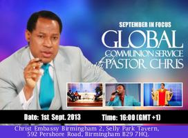 September 2013 Global Communion Service with Pastor...