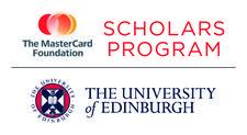 The MasterCard Foundation Scholars Program, University of Edinburgh logo