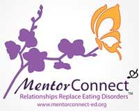 MentorCONNECT: where relationships replace eating disorders logo