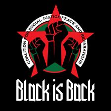 Black Is Back Coalition logo