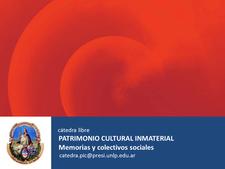 """Cátedra Libre """"Patrimonio Cultural Inmaterial: Memorias y Colectivos Sociales"""" de la Universidad Nacional de La Plata logo"""