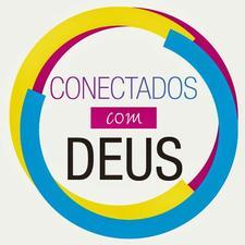 Conectados com Deus logo