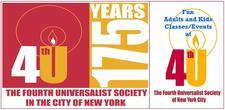 4th U, The Fourth Universalist Society of New York City logo