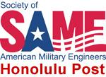 Society of American Military Engineers, Honolulu Post logo