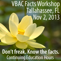 Tallahassee VBAC Facts Workshop with Jen Kamel