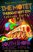 The Motet Rolls Into Quincy MA (Boston)(Costume Party!)