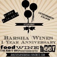 1-Year Anniversary at Barsha Wines & Spirits
