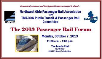 Passenger Rail Forum