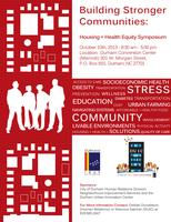 Building Stronger Communities: Housing & Health Equity...