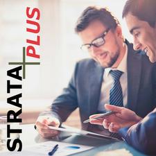 Strata Plus logo