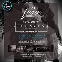 Grand Opening of Club VINE at Lexington Social House...
