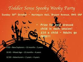 Toddler Sense Spooky Wooky Party