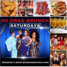 DC Drag Brunch On Saturdays - DJ India Events logo