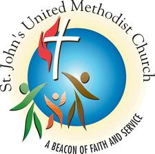 St. John's United Methodist Church, Edwardsville IL logo