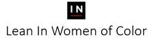 Lean In Women of Color logo