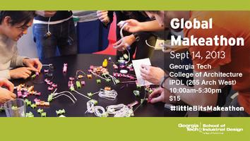 littleBits Global Makeathon at Georgia Tech