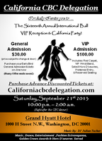 16th Annual Black & White Reception California CBC...