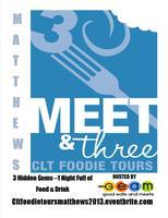 CLT Foodie Tours-Meet & 3-Matthews Hosted by Good Eats...