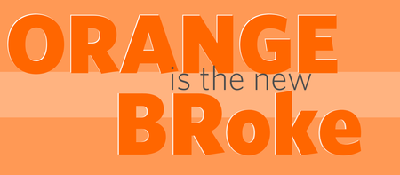 Orange is the New BRoke Tailgate Party
