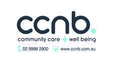 CCNB Community Care + Well Being logo