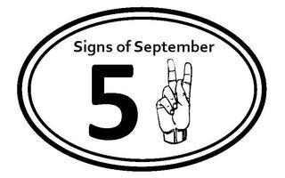 Signs of September 5K Run/Walk