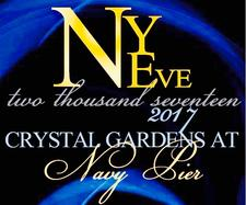 Crystal Gardens New Years Eve 2017 logo