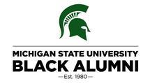 Michigan State University Black Alumni Association  logo