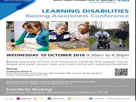 Learning Disability Awareness Conference 2016