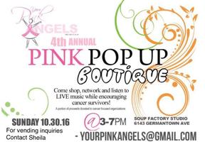 Pink Angels 4th Annual Pink Pop Up Boutique